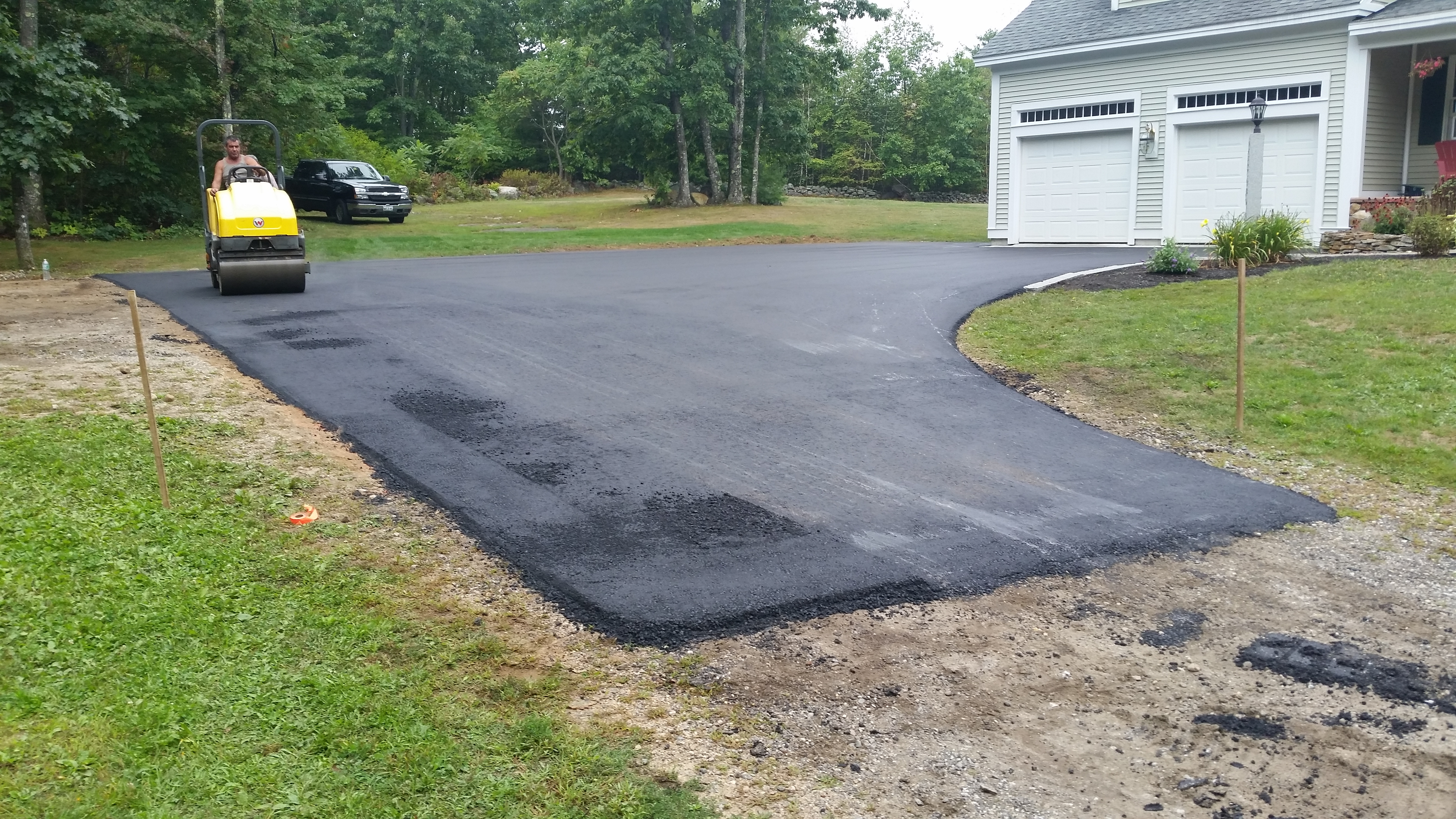 Residential paving in NH