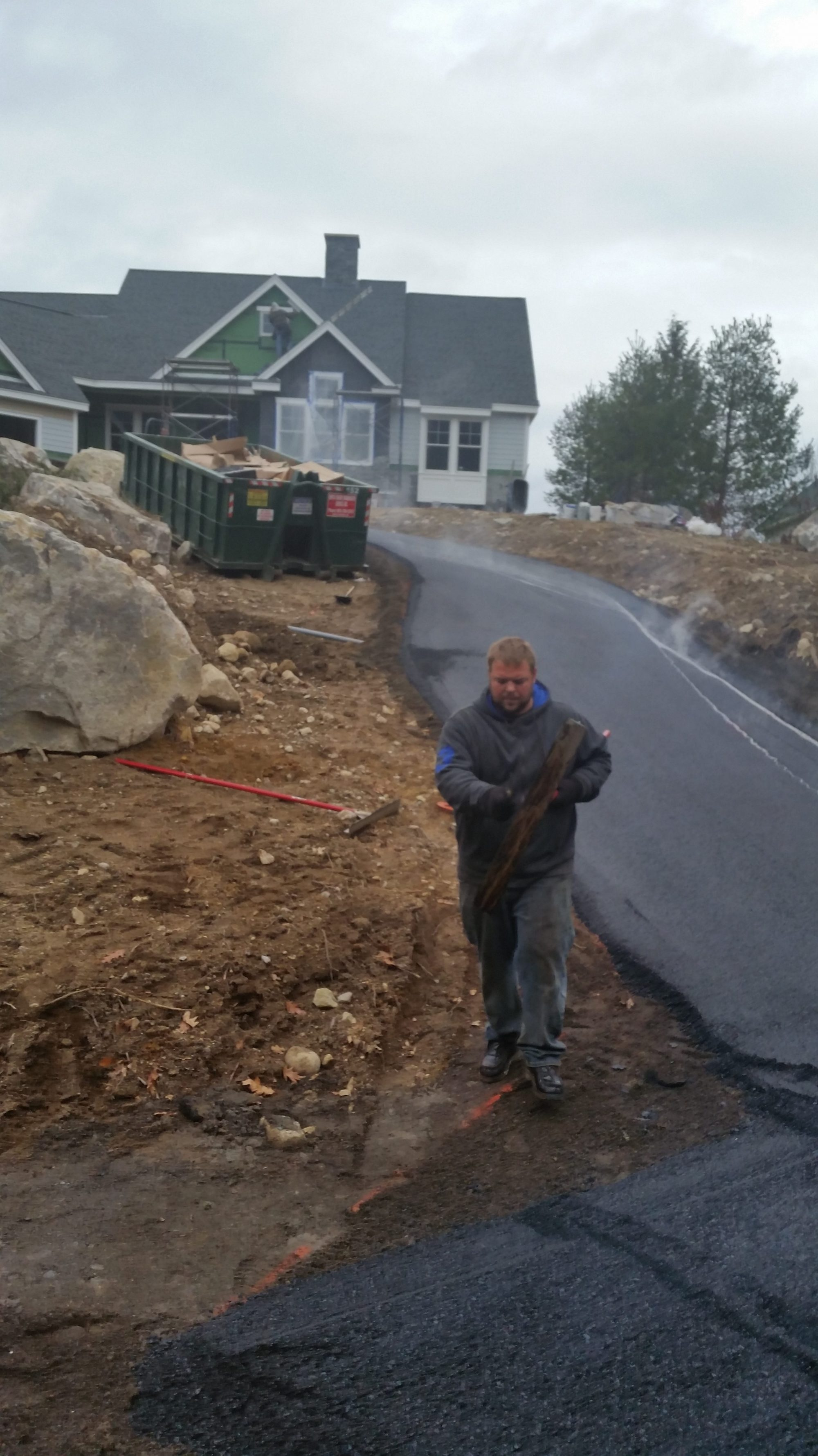 new pavement for residential driveway in New Hampshire
